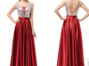 PP83 Sequins V Neck  Evening Gowns(9 Colors)