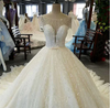 Luxury new design crystal shining Wedding Gown