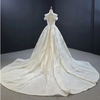 Real photo Sweetheart mermaid Wedding gown with detachable train
