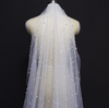 BV22 Pearl One Layer Bridal Veils
