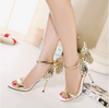 BS84 Butterfly Wings Wedding heels (2 Colors)