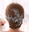 BJ176 Silver Bridal Hair Jewelry