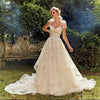 High quality Shiny Lace A-line Wedding Dress