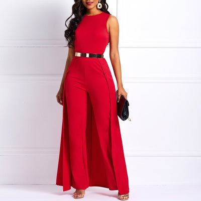 JR64 Plus size Wide Legs Jumpsuit