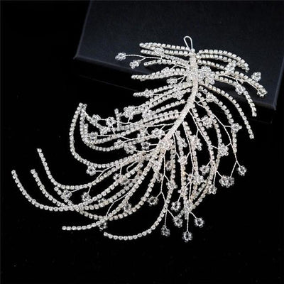 BJ106 : 6 styles vintage diamond Bridal Hair jewelry