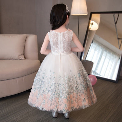 FG343 Lace Flower Girl Dress (2-12 Years)