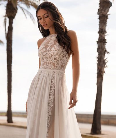 CW539 Gorgeous Bohemian Wedding Dress