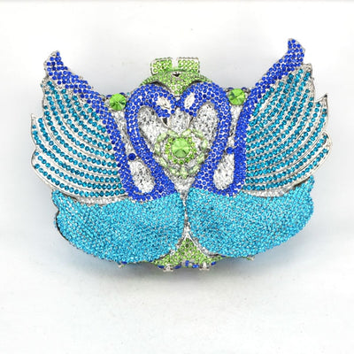 CB20 Swan Shaped Prom Clutch Bags (16 Colors )