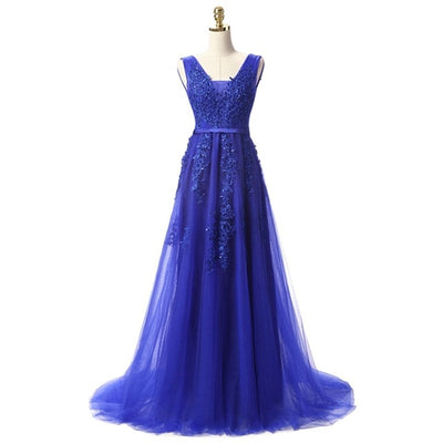 BH04 Sleeveless Lace Bridesmaid Dresses (10 Colors)