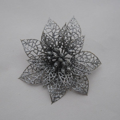 Glitter Hollow Flowers for DIY Wedding, Party, Home Decoration