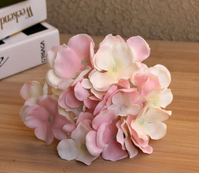 Artificial Big Hydrangea Flower For DIY Wedding Decor