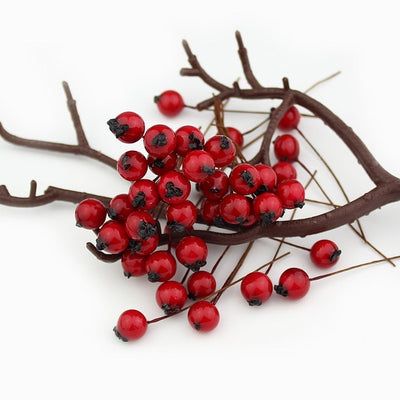 Artificial Red Berries for Wedding & Occasion Decor