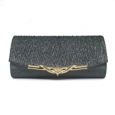 CB04 : 8 Colors Cheap Glitter Chain Clutches Bags