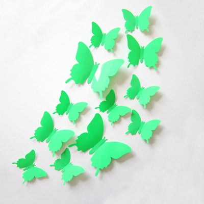 Butterfly Stickers for DIY Backdrop Wedding & Baby shower(9 Colors)