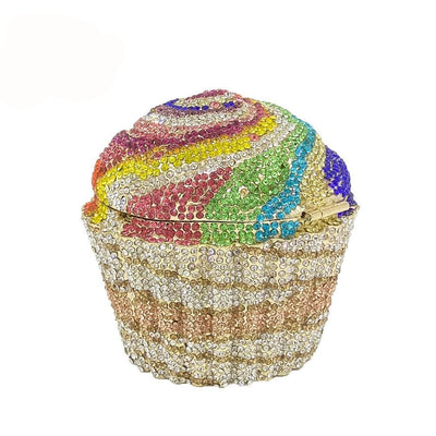 CB25 Cupcake Shape  Evening  Clutch Bags (5 Colors )