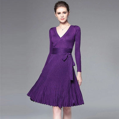 MX21 Casual Winter Spring Dresses (7 Colors)