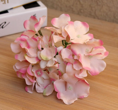 DIY Wedding Decoration : Artificial Silk Hydrangea (15 Colors)