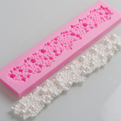 Cake tools Flower Border Silicone