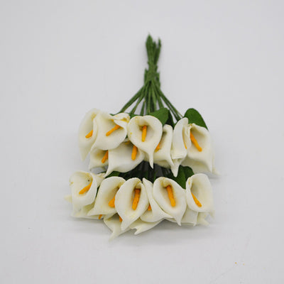 Artificial  Mini Calla Lily for DIY Wedding and Party Supplies
