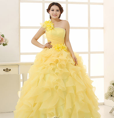 Colorful Organza  Wedding Dresses (8 Colors)