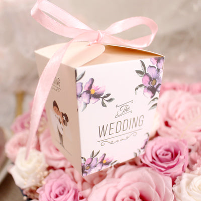20pcs Bride &Groom candy Gift Box for Baby Shower&Wedding Souvenir