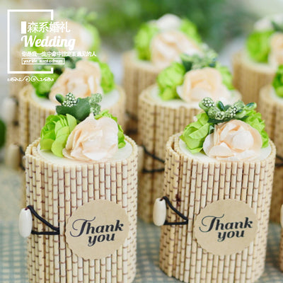 Bamboo Favor Boxes For Wedding and party Decoration