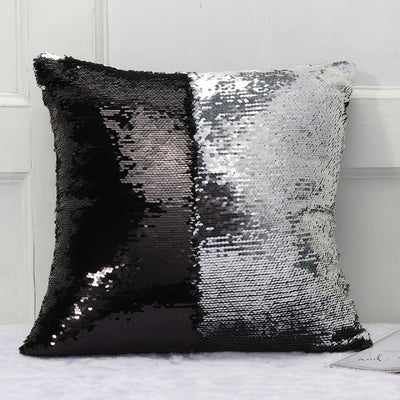 Sequin Cover Pillow For Home Decor,Wedding Supplies (24 Colors)