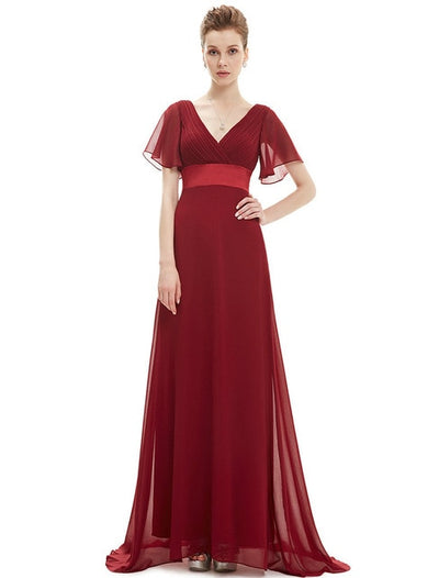 BH94 Formal A -line Chiffon Bridesmaid Dresses