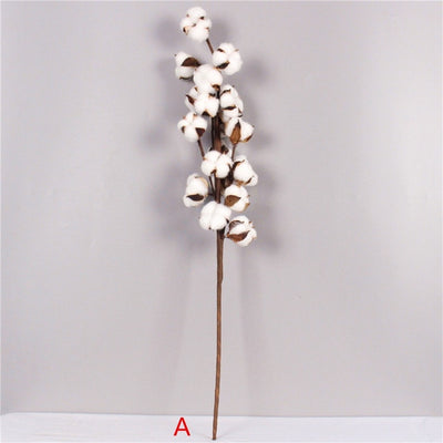 Artificial Cotton Flower for DIY Wedding Decor