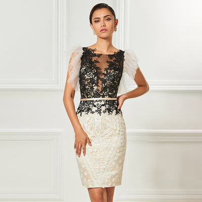 PP28 Tulle Sleeveless Cocktail Dresses