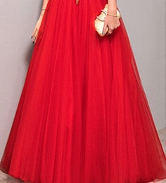 PP99 Dazzling sequined Red Carpet Dresses(5 Colors)