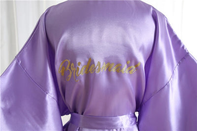 Satin Robe for Hen night Party (8Colors)