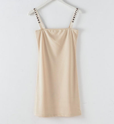 MX92 Fashion Spring Nude Mesh Dress