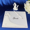 Bride & Groom signature Wedding Guest Book