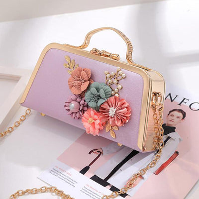 CB39 Flower Peals Evening Clutch bags (5 Colors)