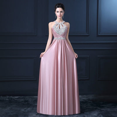 Plus Size  Beaded Long Evening Dresses