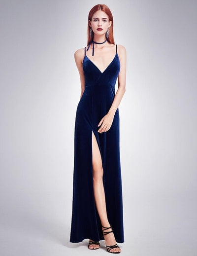 BH120 Cheap Velvet collection long Bridesmaid  Dresses