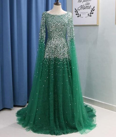 Luxury Arabic Evening Dresses (8 Colors)