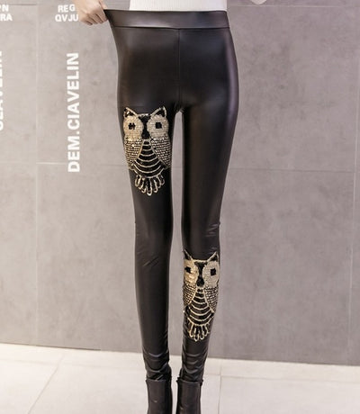 TP03 Punk Leather Leggings (3 Styles )