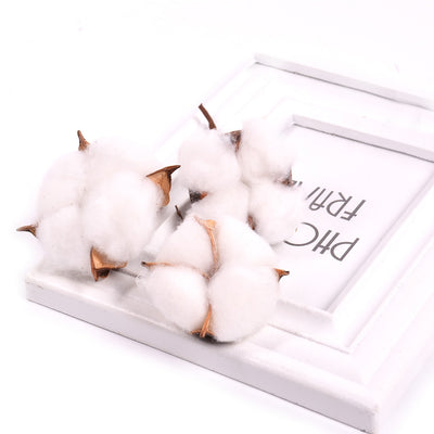 10pcs/lot Kapok Cotton Head  For DIY Wedding Decoration