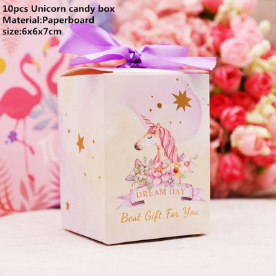 Unicorn gift bag for Baby Shower, Wedding Decor, Birthday Party Supplies