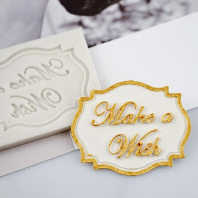 Bakery Tools Blessing Plate Inserted Card