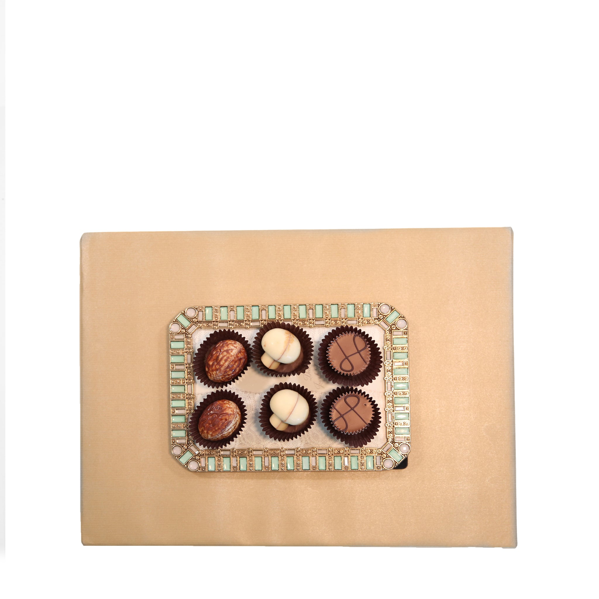 Jeweled Frames & Chocolates