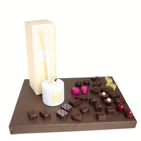 Laline Home Diffuser + Chocolates