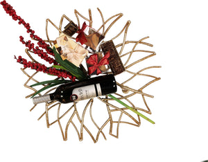 Stunning Metal Branches Centerpiece
