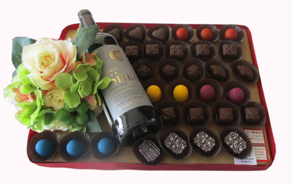 Flowers, Chocolate and Wine!