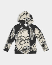 Load image into Gallery viewer, black U.L hugh Kids Hoodie