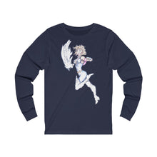 Load image into Gallery viewer, The Gaurdian Unisex Jersey Long Sleeve Tee