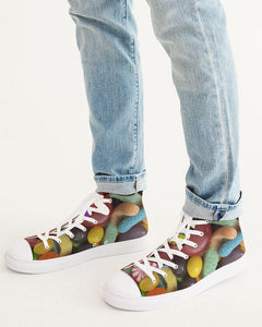 Rwewear  Men's Hightop Canvas Shoe