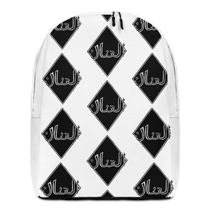 THE UNLEASHED ARABIC Brand Minimalist Backpack